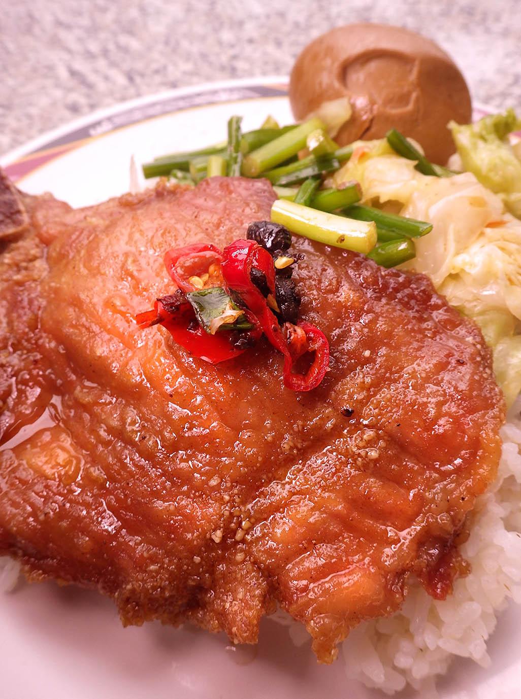 【阿彰の台湾写真紀行】排骨飯、排骨麵、排骨湯