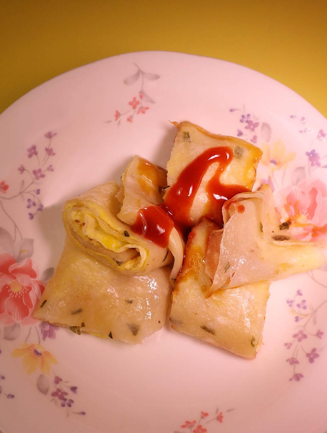 【阿彰の台湾写真紀行】蛋餅(タンピン)